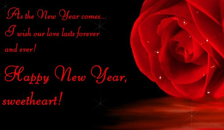 quotes of the day description new year love wishes for her greeting card