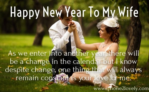 Happy New Year 2018 Quotes New Year Messages For Wife 2017 Hall