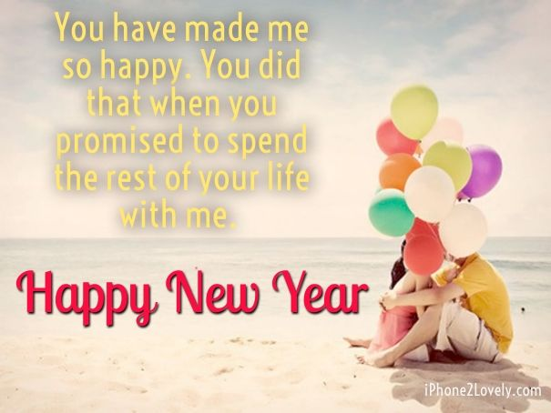 Happy New Year 2018 Quotes : New Year Wishes For Him - Hall Of ...