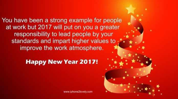 Happy New Year 2018 Quotes : New Year Wishes For Work ...