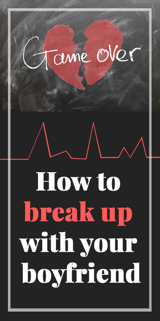 How to break up with your hook up