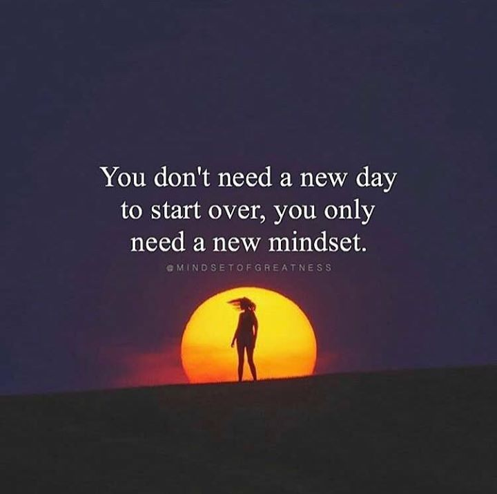 Inspirational Day Quotes: Positive Quotes : You Dont Need A New Day To Start Over