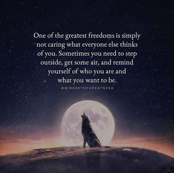Positive Quotes One Of The Greatest Freedom Is Simply Not Caring