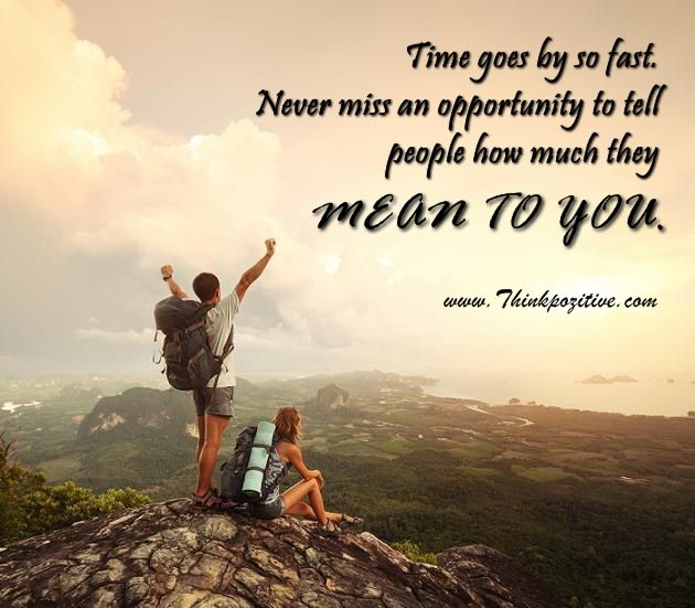 Positive Quotes Time Goes By So Fast Hall Of Quotes Your