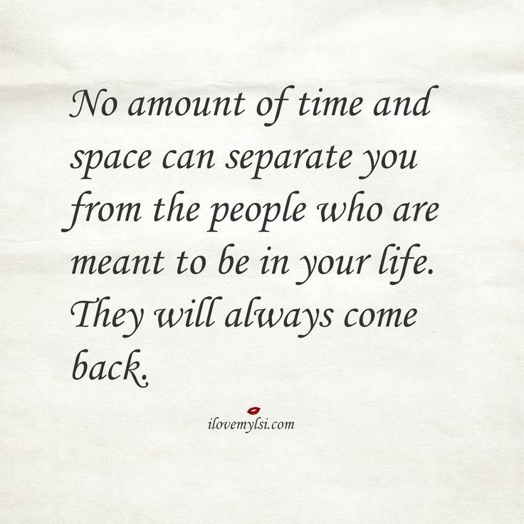 Love Quotes No Amount Of Time And Space Can Separate You From The