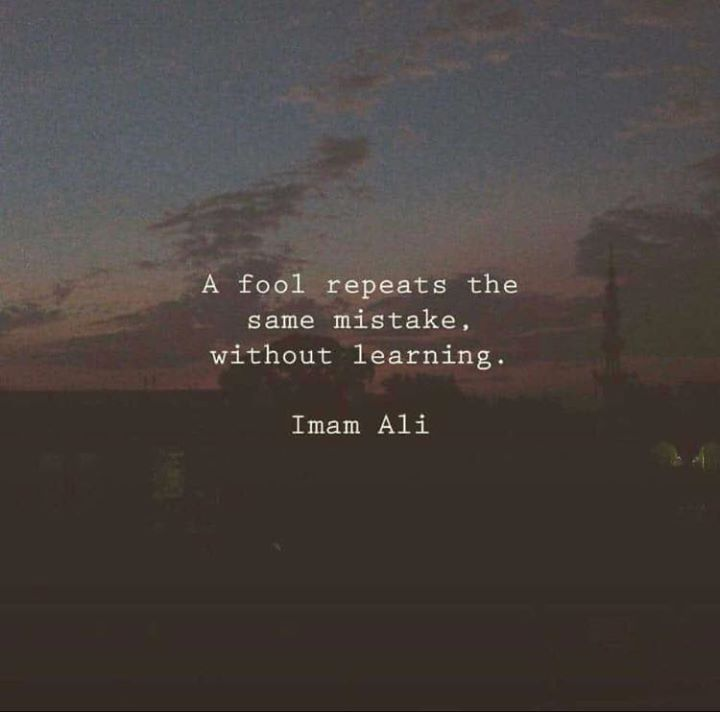 Positive Quotes A Fool Repeats The Same Mistake Without Learning