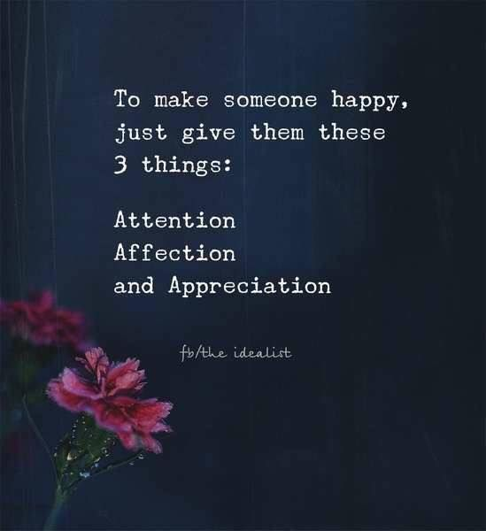 To Make Others Happy Quotes: Positive Quotes : To Make Someone Happy Just Give Them