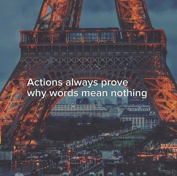 Positive Quotes Actions Always Prove Why Words Mean Nothing