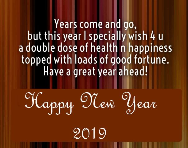 New Years Day Quotes 2019: Happy New Year 2018 Quotes : Happy New Year Greetings 2019