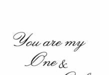 You Are My One And Only Quotes For Him Doodle God