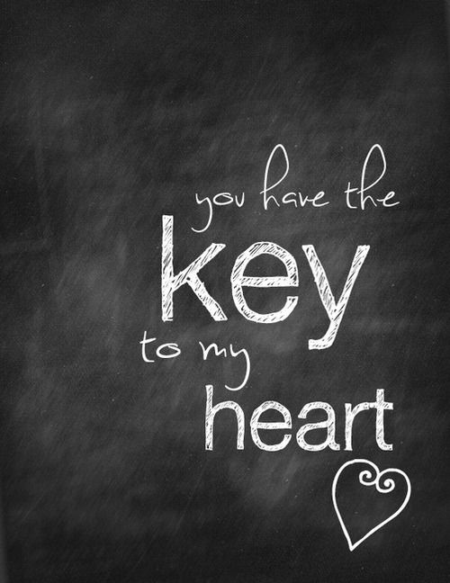 Key To My Heart Love Quotes Hall Of Quotes Your Daily Source
