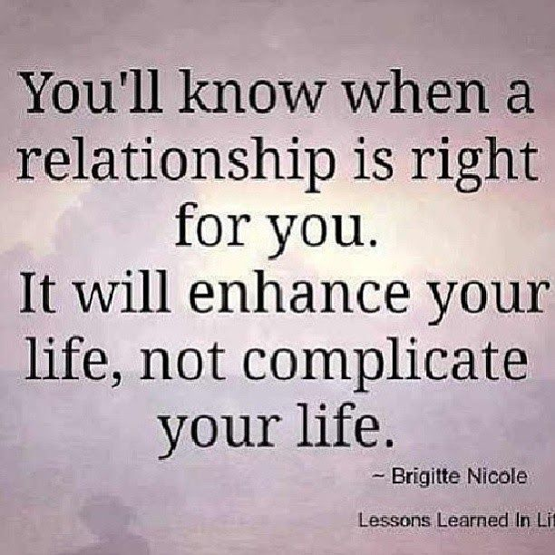 Soulmate And Love Quotes Youll Know When A Relationship Is Right