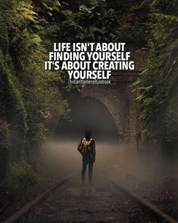 Positive Quotes Life Isnt About Finding Yourself Hall Of
