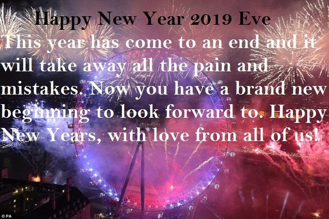 New Years Day Quotes 2019: New Year Quotes : Happy New Year Eve Day 2019 #happy New