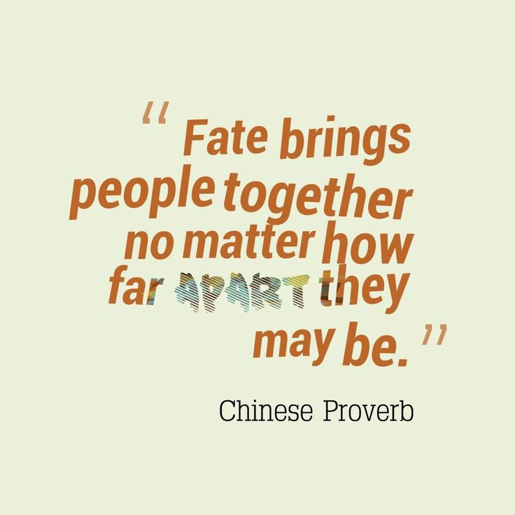 Soulmate Quotes Quotes About Meeting Someone By Fate Hall Of