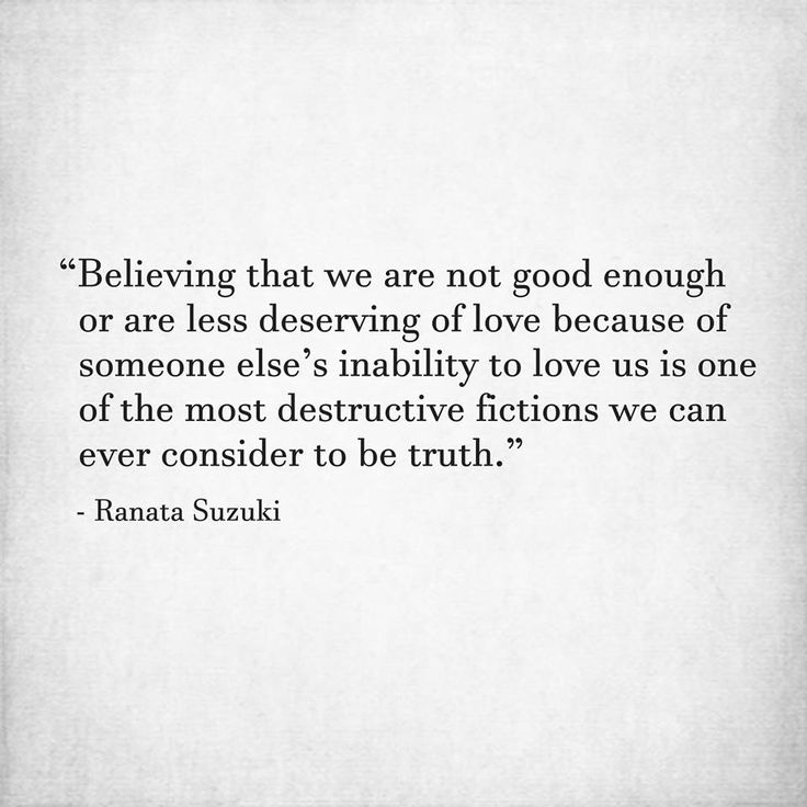 Love Quotes The Most Destructive Fiction We Can Ever Consider To
