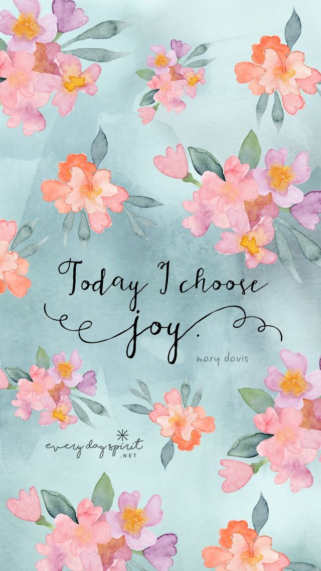 Positive Quotes Today I Choose Joy Inspirationalquotes Lovelife